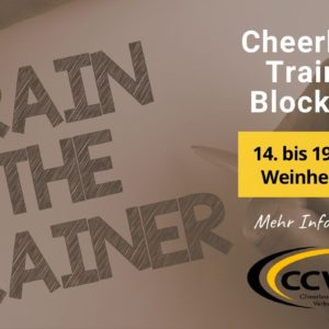 Cheerleading Trainer-Ausbildung 2020 in BaWü