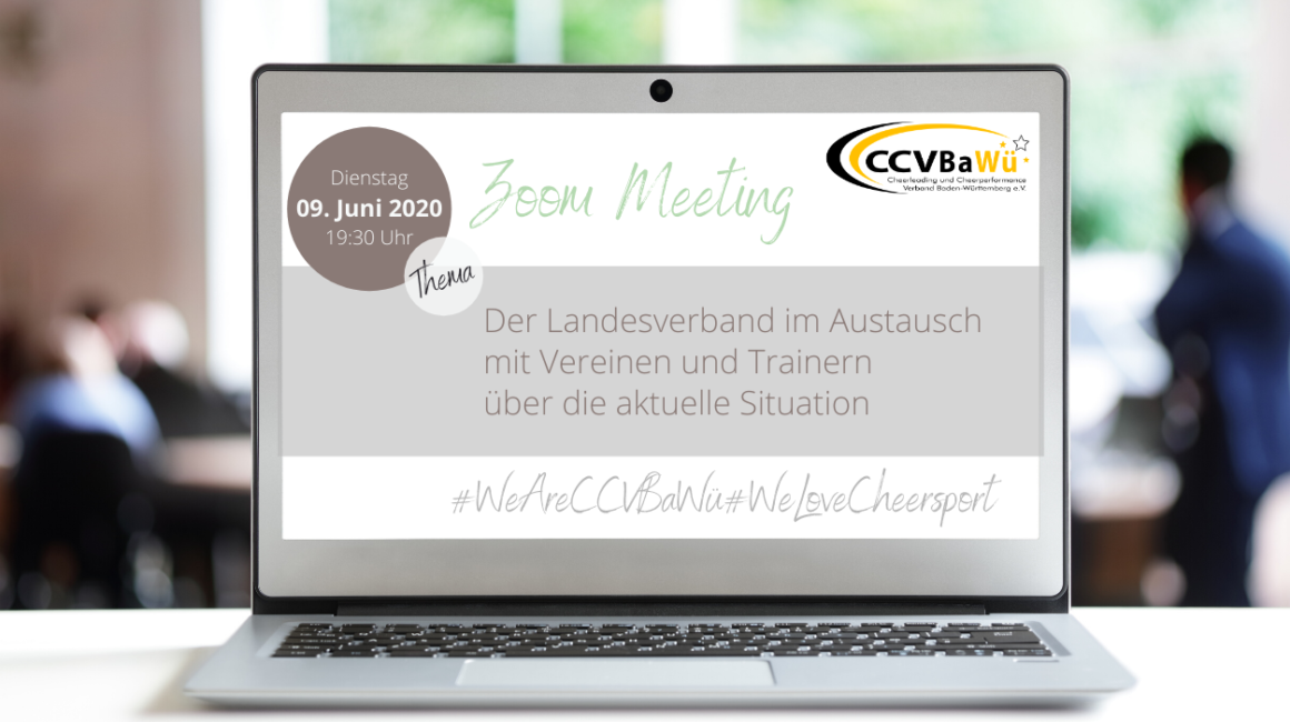 1. Landesweites Online Meeting – am 09.06.2020