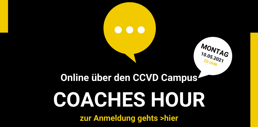Coaches Hour – 10.05.2021